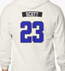 Nathan Scott 23 Jersey Zipped Hoodie