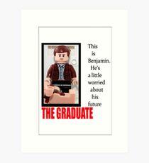 Lego The Graduate Art Print