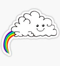 The real origin of rainbows Sticker