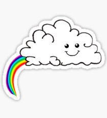 The real origin of rainbows Sticker