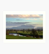 Lune Valley - Early One Morning Art Print