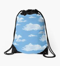 Blue Skies Drawstring Bag
