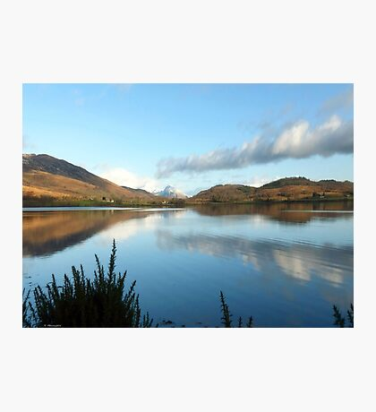 Loch Linnhe on a Winter Day Photographic Print