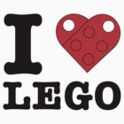 I Heart LEGO by thereeljames