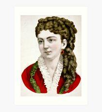 Clara - 1907 - Currier & Ives Art Print