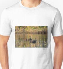 Sunset Cygnets T-Shirt