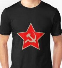 Communist Star; Hammer And Sickle; Hammer Und Sichel Unisex T-Shirt