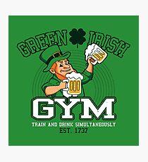 Green Irish Gym Photographic Print