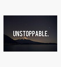 Unstoppable Photographic Print