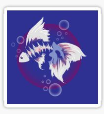 Fighting Fish Sticker