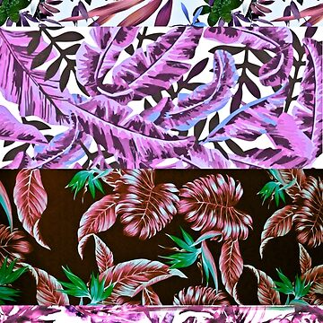 PINK TROPICAL COLLAGE by bondandreabond