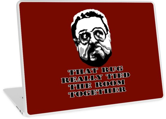 Officially Licensed Big Lebowski Rug Mouse Pad It Will Really Tie
