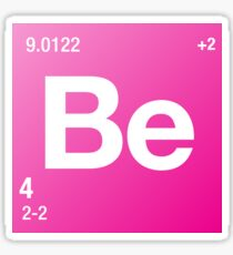 Element Beryllium Sticker
