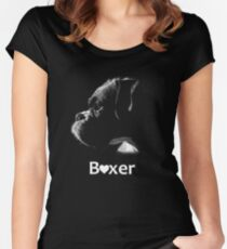Boxer Love Women's Fitted Scoop T-Shirt