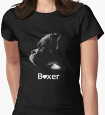 Boxer Love Women's Fitted T-Shirt