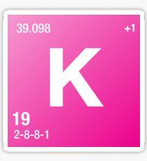Element Potassium Sticker