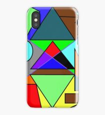 Shapes World iPhone Case/Skin