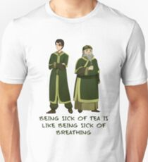 Zuko and Iroh Tea Shop with Qoute Unisex T-Shirt