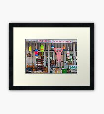 Antiques & Collectibles Framed Print