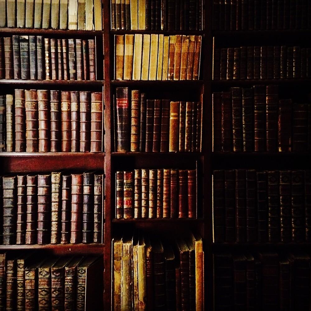 Books, Belton House by Robert Steadman