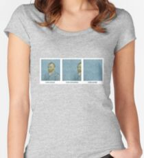 VAN GONE Women's Fitted Scoop T-Shirt