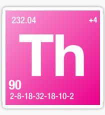 Element Thorium Sticker