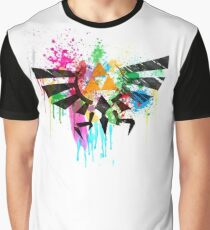 Hylian Paint Splatter Graphic T-Shirt
