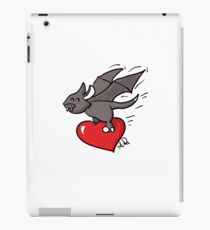 Cute Bat Valentine's day iPad Case/Skin