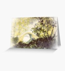 Beggar's Bridge - Vignette Greeting Card