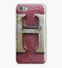 Vancouver Urban Alphabet - H iPhone Case/Skin