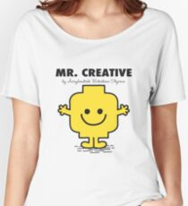 Mr Creative Women's Relaxed Fit T-Shirt