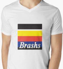 Brashs Square Mens V-Neck T-Shirt