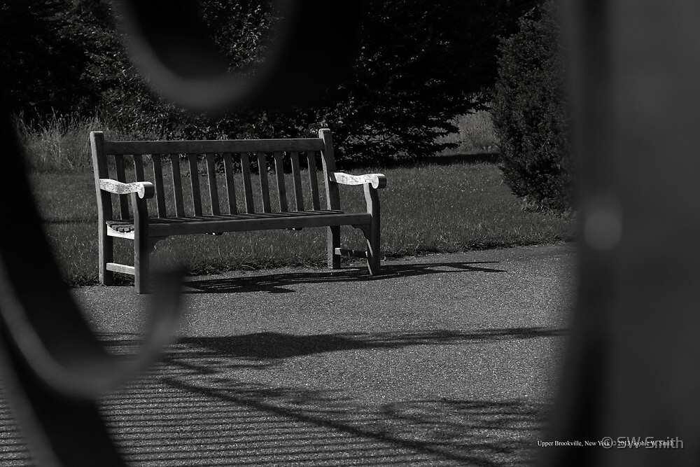 Bench | Upper Brookville, New York by © Sophie W. Smith