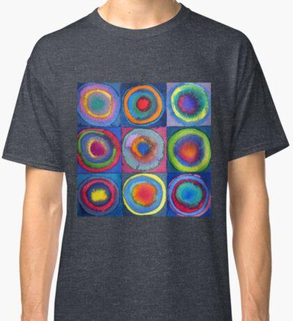 Circles - abstract watercolour by Francesca Whetnall Classic T-Shirt