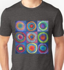 Circles - abstract watercolour T-Shirt