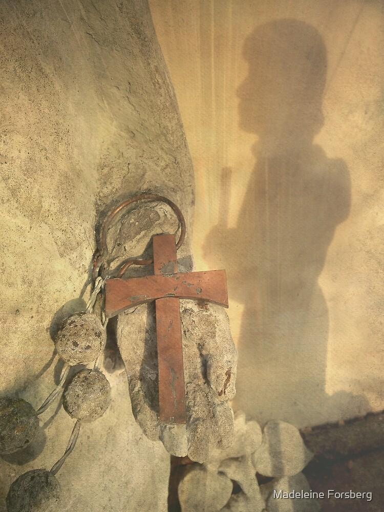 Pilgrim Shadow & Cross by Madeleine Forsberg