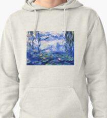 Monet's water lilies Pullover Hoodie