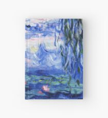 Monet's water lilies Hardcover Journal