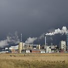 Industry In Contrast by Francis Drake