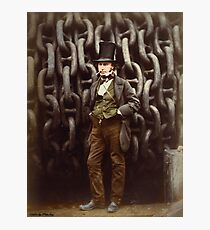 ISAMBARD KINGDOM BRUNEL 1857 Photographic Print