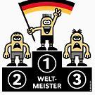 Weltmeister Deutschland (Sport / Fußball) by MrFaulbaum
