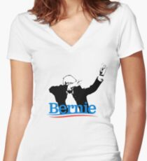 Bernie Dab Women's Fitted V-Neck T-Shirt