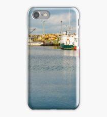 Fishing Boats at Feltzen South iPhone Case/Skin