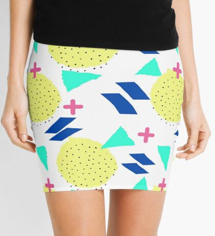 Throwback Abstract 1 Mini Skirt