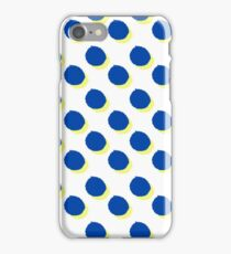 Blue Dots iPhone Case/Skin