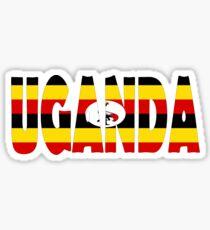 Uganda Sticker