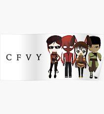 Chibi team CFVY Poster