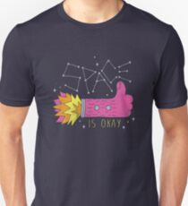 SPACE IS OKAY! Unisex T-Shirt