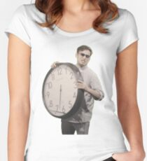 It's Time To Stop Women's Fitted Scoop T-Shirt