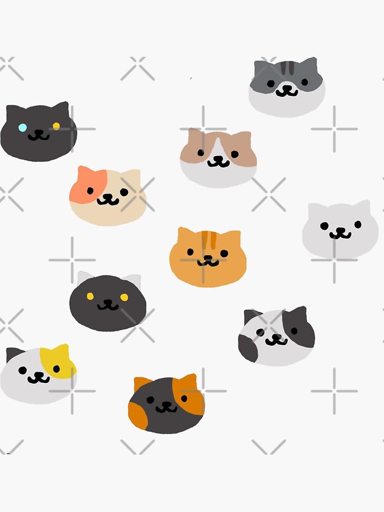 Neko Atsume Katzen von krisdrawsthings